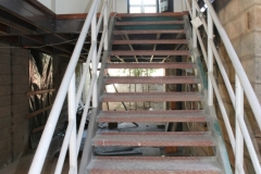 Treppe zum Büro