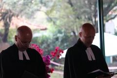Pastoren Reusch und Hawerkamp